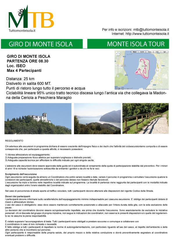 MTB Tuttomonteisola – Monte Isola Tour