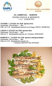 locandina sardinata 2013
