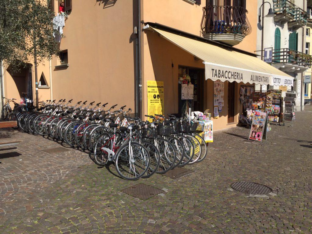 Noleggio biciclette - Bertelli - Montisola