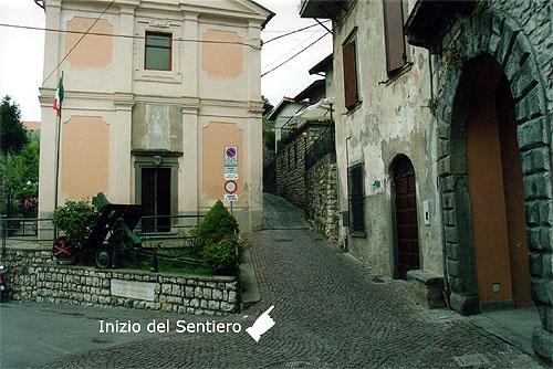 Siviano - Masse - Itinerario