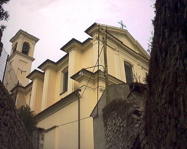 Chiesa San Michele Arcangelo - Peschiera Maraglio - Lago d'Iseo