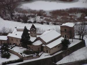 Monastero S.Pietro in lamosa d'inverno