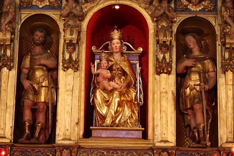 Statua della Madonna della Ceriola - Loc. Cure