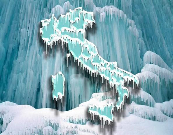 Freddo e Gelo sul lago d'iseo