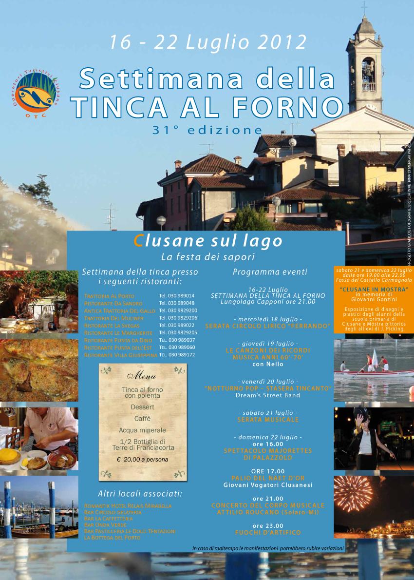 Settimana della Tinca – Edizione 2012 – Clusane d'Iseo